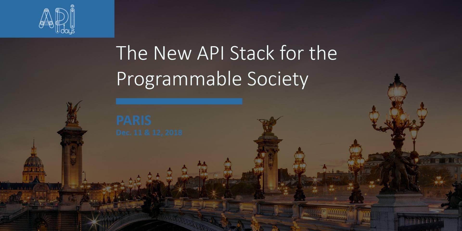 APIdays Paris 2018