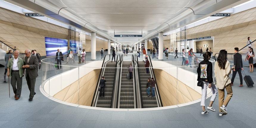 Laing O'Rourke - Central Station Metro | Virtual Tour