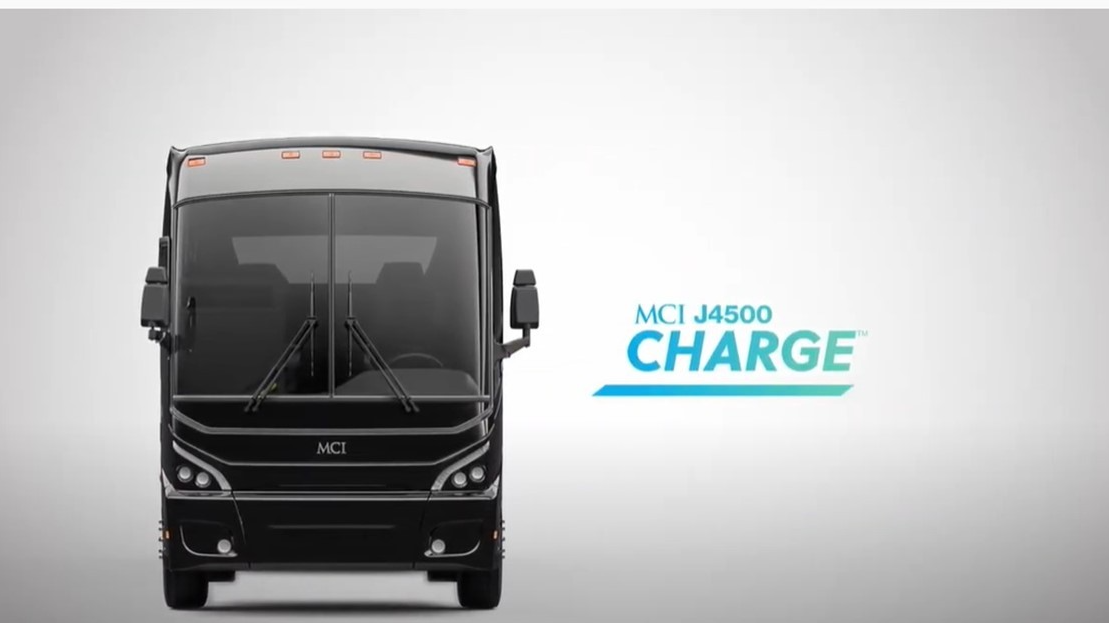 MCI J4500 CHARGE electric motorcoach NEW!