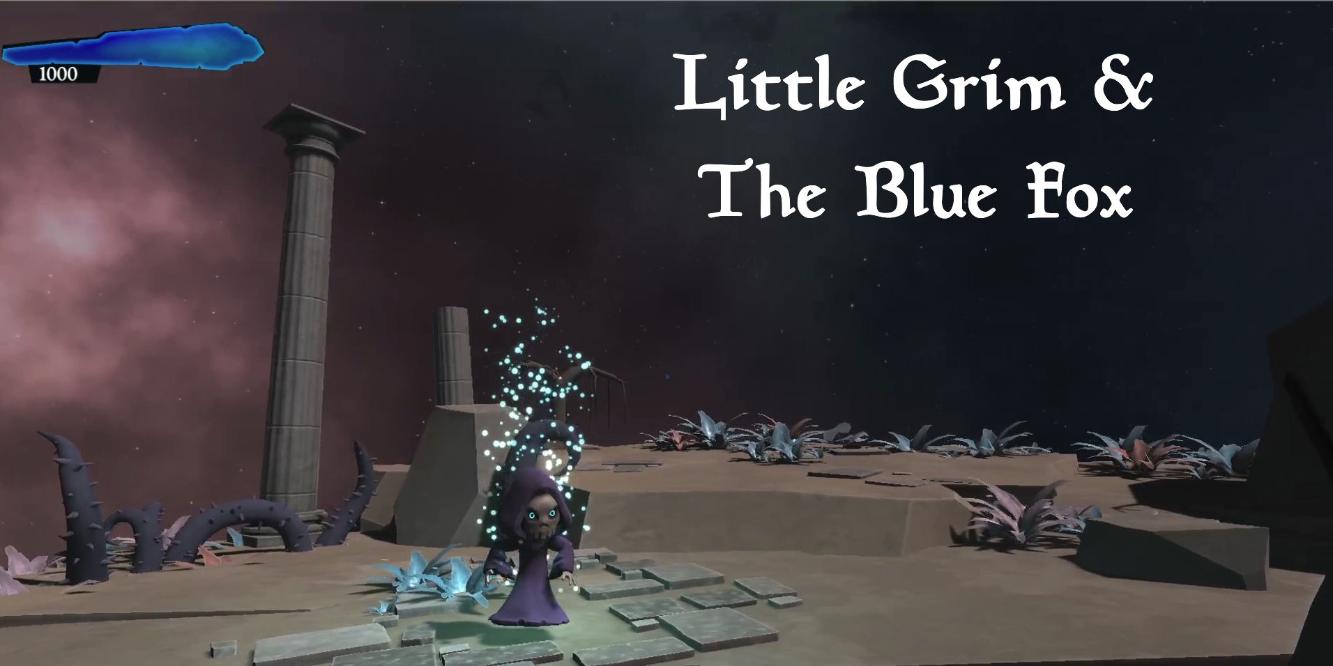 LITTLE GRIM & THE BLUE FOX