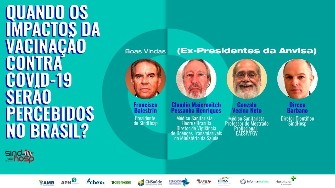 Quando os impactos da vacinação contra Covid-19 serão percebidos no Brasil?